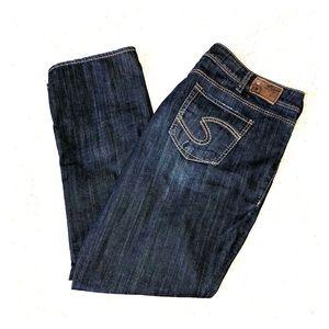 Silver Jeans Suki Straight Size 22